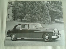 Daimler Limousine Press Photo brochure c1965 No 1