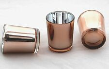10 Rose Gold Candle Wedding Anniversary Tealight votive holder table decoration