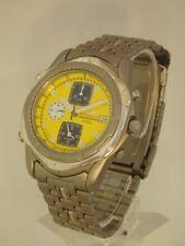 Pulsar Herrenuhr Uhr Chrono Chronograph Titan Titanium Alarm PSZ357