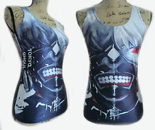 Womens Tokyo Ghoul Anime Girls T Shirt Tank Top Cami Vest Manga One Size New UK