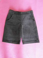 Low Rise Brown Corduroy River Island Tailored Look Shorts in Size 6