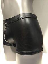 Manstore M 107 Zipped  Pants mit Reißverschluss Schwarz Größe XL - 7