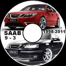 SAAB 9-3 1998-TO-2011 ALL MODELS MASTER WORKSHOP REPAIR SERVICE MANUAL SYSTEM CD