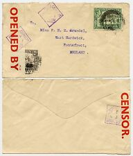 ADEN WW2 CENSOR No.1 to PONTEFRACT GB 1940 MARCH 8th
