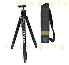 weifeng metal Tripod wf-6662a Kit for DSLR Camera  telescope vidicon +tripod bag