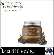 INNISFREE JEJU VOLCANIC PORE CLAY MASK Original 100ml (New Upgraded) AUSTRALIA