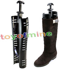 1Pair KNEE HIGH Boots Stand Holder Shaper Shoes Up Tree Stretcher New