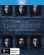 Game Of Thrones : Season 6 - Blu Ray Region B