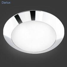 Deckenleuchte, LED möglich, Bad Badleuchte Badlampe Deckenlampe Chrom IP43/IP44