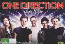 ONE DIRECTION: Their Story DVD BRAND NEW The Unauthorised Story MUSIC 4-DISC R4