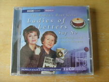 THE WOMAN'S HOUR SERIAL LADIES OF LETTERS SAY NO CD BBC COMEDY AUDIO BOOK