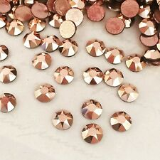 SWAROVSKI CRYSTALS HOTFIX 100 x SS20 rhinestones diamantes hot fix iron on GOLD