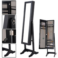 Jewelry holders organizers ebay for Miroir a coller sur armoire