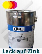 2,5Li Acryl-Lack direkt auf Zink Farbtgr.3 haftstark+dauerelastisch 31,32 €/Li