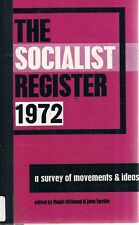 The Socialist Register- 1972 by Miliband Ralph Saville John - Book - Hard Cover