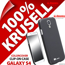 New Krusell Black ColorCover Hard Case For Samsung i9500 Galaxy S4 Cover Shell
