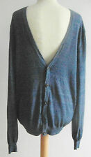 """H&M"" MENS DENIM BLUE LONG SLEEVED CARDIGAN, SIZE:M - BNWT"