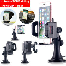 Universal Windshield Car Mount Holder Stand Cradle Fr iPhone 7 7 Plus 6s Samsung