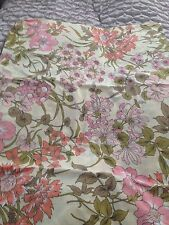 Bed Sheet, Bed Throw~ Cover ~ HORROCKSES VINTAGE~ Stunning Print. NEW. King