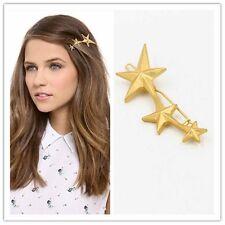 Girls Gold Multi Star Hair Clip Headband Hair Accessories Headpiece Boho