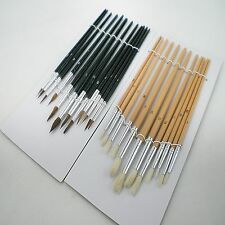 NEW TOUCH UP PAINT BRUSHES FINE SIZES DETAILING WORK BRUSH PAINTING SET KIT