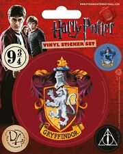 HARRY POTTER (GRYFFINDOR) - VINYL STICKERS 5 PACK BY PYRAMID PS7225