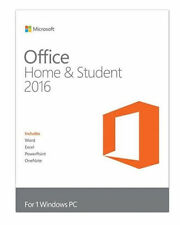 Microsoft Office Home & Student 2016 for Windows 32/64 Bit