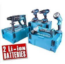 MAKITA 5DMJ 18v Li-ion 4.0Ah Cordless 5 Piece Kit