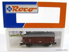 Roco 46042 H0  gedeckter Güterwagen der DB mit OVP X00001-07718