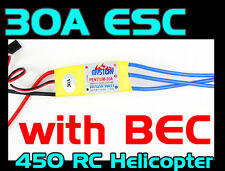 Mystery 30A Brushless Motor Speed Controller RC ESC w/3.5mm connectors