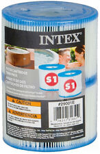 Intex Pure Spa Type S1 Replacement Filter Cartridges (2 Pack) | 29001E
