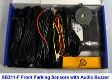 CISBO Front Forward Parking Sensor Aid Kit 4 Sensors Audio Buzzer Alarm SB373