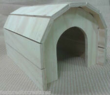 PINE PLY WOOD TUNNEL HOUSE FOR CAGE/RUN, SMALL RABBIT,GUINEA PIG