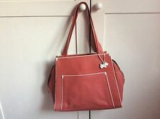 Radley Coral Leather Tote Bag /Handbag
