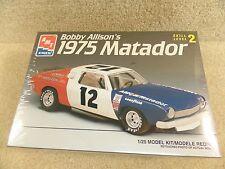 New 1995 ERTL AMT 1:25 Model Kit NASCAR Bobby Allison 1975 AMC Matador Hodgdon