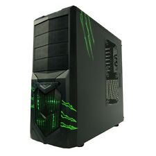 AvP Wolverine Greed Midi Tower Gaming PC Case Inverted USB 3.0 Green LED