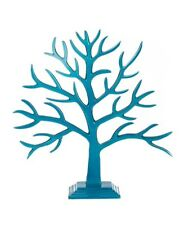 Aluminium Baobab Jewel Tree Home Decor/ Jewellery Small Stand - AQUA *CLEARANCE*