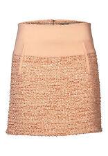 APART Rock 46 NEU UVP69€ Boucle Rock pencil skirt Apricot Boucle 24129 164