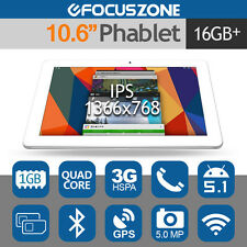"""CUBE Talk11 10.6"""" IPS 3G Tablet PC Phone Android 5.1 Quad Core 16GB GPS Dual SIM"""