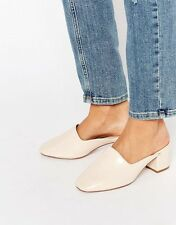 Shop now BNIB (brand new) ASOS Speed Me Up Mules size 38 / (7) - Nude. Top Buy!