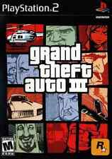 PS2-Grand Theft Auto III /PS2  GAME NEW