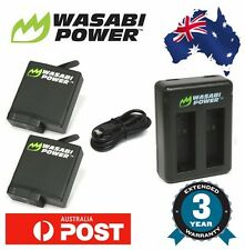 Wasabi Power Battery for GoPro HERO 5 2x 1220mAh batteries with Dual USB Charger