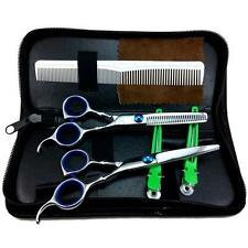 Pro Salon Barber Hair Cutting & Thinning Scissors Shears Hairdressing Set 6