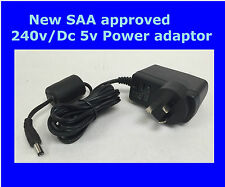 NEW 240V DC 5V Convertor Power Charger Supply AC/DC Adapter AU plug SAA