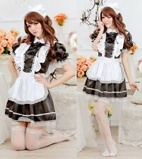 Quality Black French Maid Cosplay Fancy Dress, Hen Party Outfit, Costume, UK S-M