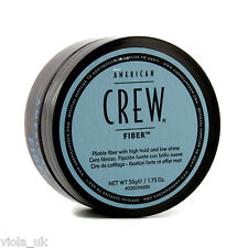 American Crew Fiber Mens Hair Styling Grooming High Hair Hold Low Shine 50g