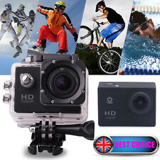 HD 1080P Helmet Action Waterproof Sports Camera DV Bike Camcorder as SJ4000