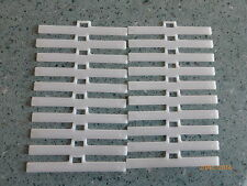 30 Vertical Blind Top Hangers Clips 89mm /3.5in For Replacement / UV Stabilised