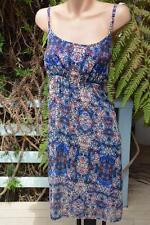 Katies Exclusive Print HANKY DRESS Size16 NEW RRP $59.95 Shirred Back. LINED