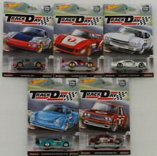 Car Culture 5 pcs Set Track day Porsche Chevy Karman Datsun 1:64 Hot wheels 956D